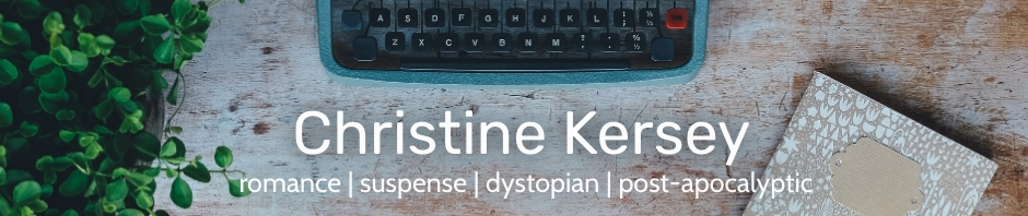 Christine Kersey - author of clean romance and suspense